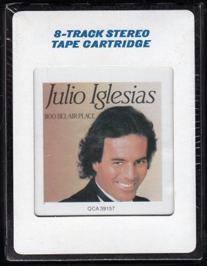 Julio Iglesias - 1100 Bel Air Place 1984 CRC Sealed 8-track tape