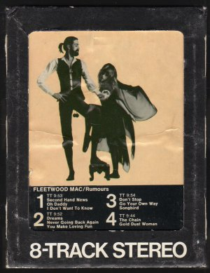 Fleetwood Mac - Rumours 1977 WB SOLD 8-track tape