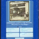 Creedence Clearwater Revival - Willy And The Poor Boys 1969 GRT FANTASY 8-track tape