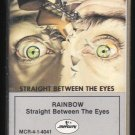 Rainbow - Straight Between The Eyes Cassette Tape