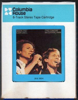 Simon & Garfunkel - The Concert In Central Park 1982 CRC 8-track tape
