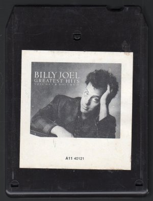 Billy Joel - Greatest Hits Vol 1 1985 CRC 8-track tape