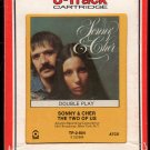 Sonny & Cher - The Two Of Us 1972 RCA ATCO 8-track tape