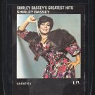 Shirley Bassey - Greatest Hits 1976 UA 8-track tape