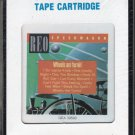 REO Speedwagon - Wheels Are Turnin' 1984 CRC Sealed A32 8-track tape
