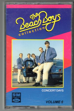 The Beach Boys Collection - Concert Days Vol 6 Cassette Tape