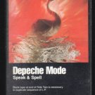 Depeche Mode - Speak & Spell Cassette Tape