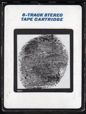Chicago - Chicago 14 XIV 1980 A43 8-track tape