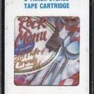 Rock Menu - Hot Platter Of Chrysalis Hits 1986 CRC T3 8-track tape