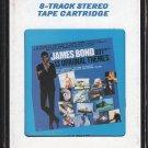 James Bond - 13 Original Themes 1983 CRC T2 8-track tape