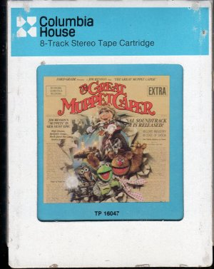 The Great Muppet Caper - An Original Soundtrack Recording 1981 CRC T7 8-track tape