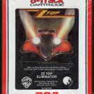 ZZ Top - Eliminator 1983 RCA Sealed T5 8-track tape
