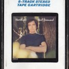 Neil Diamond - Heartlight 1982 CRC T4 8-track tape