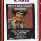 Merle Haggard - Merle Haggard's Greatest Hits 1982 RCA T6 8-track tape