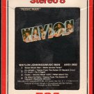 Waylon Jennings - Music Man 1980 RCA T8 8-track tape