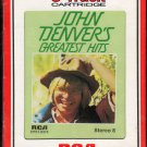 John Denver - Greatest Hits 1973 RCA T8 8-track tape
