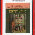 Styx - The Grand Illusion 1977 RCA T8 8-track tape