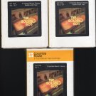 The Golden 60's - Various Rock 1983 CRC Vol 1-5 T8 8-track tape