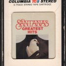 Santana - Greatest Hits 1974 TC8 T8 8-track tape