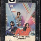 Kool & The Gang - Celebrate 1980 DELITE A5 8-track tape