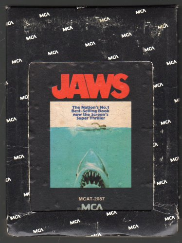 Jaws - Original Soundtrack Recording 1975 MCA A45 8-track tape