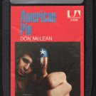 Don McLean - American Pie 1971 UA 8-track tape