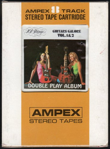 101 Strings - Guitars Galore Vol 1 & 2 1970 AMPEX A28 8-track tape