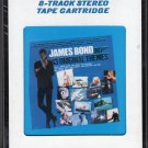 James Bond - Thirteen Original Themes 1983 CRC Sealed 8-track tape