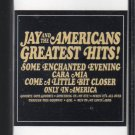 Jay And The Americans - Greatest Hits 1980 CRC C3 Cassette Tape