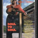 Stevie Ray Vaughan - Soul To Soul 1985 EPIC Cassette Tape