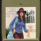 Carly Simon - No Secrets 1972 ELEKTRA A7 8-track tape