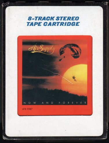 Air Supply - Now And Forever 1982 CRC A46 8-track tape