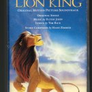 The Lion King - Original Soundtrack Cassette Tape