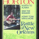 Johnny Horton - Battle Of New Orleans Cassette Tape