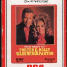 Porter Wagoner And Dolly Parton - The Best Of RCA 8-track tape