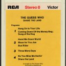 The Guess Who - Share The Land 1970 RCA 8-track tape