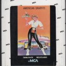 American Graffiti - 41 Original Hits Soundtrack Of American Graffiti 1973 MCA 8-track tape