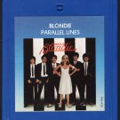 Blondie - Parallel Lines 1978 CHRYSALIS 8-track tape