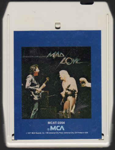 Golden Earring - Mad Love 1977 MCA A14 8-track tape