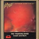 Pat Travers Band - Crash and Burn 1980 POLYDOR 8-track tape