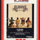 Alabama - Just Us 1987 RCA 8-track tape