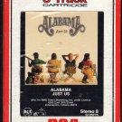 Alabama - Just Us 1987 RCA A49 8-track tape