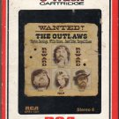 Waylon Jennings, Willie Nelson, Jessi Colter, Tompall -  Wanted! The Outlaws RCA 8-track tape