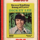 Dickey Lee - Never Ending Song Of Love 1972 RCA A49 8-track tape