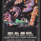Daryl Hall & John Oates - Live At The Apollo with David Ruffin and Kendricks Cassette Tape