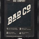 Bad Company - Bad Company 1974 Debut SWAN ATLANTIC 8-track tape
