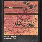 Alice Cooper - School's Out 1972 WB A23 8-track tape