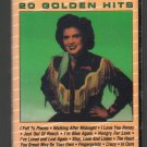 Patsy Cline - 20 Golden Hits Cassette Tape