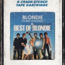 Blondie - The Best Of Blondie 1981 CRC A40 8-track tape