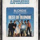 Blondie - The Best Of Blondie 1981 CRC A40 8-track tape